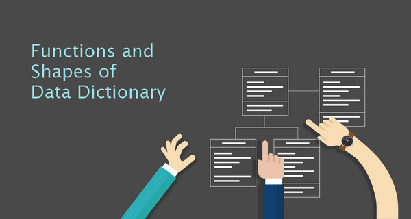 how to create a data dictionary in sql