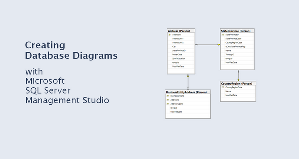 creating database diagram with microsoft sql server management studio ssms - Create Erd Diagram
