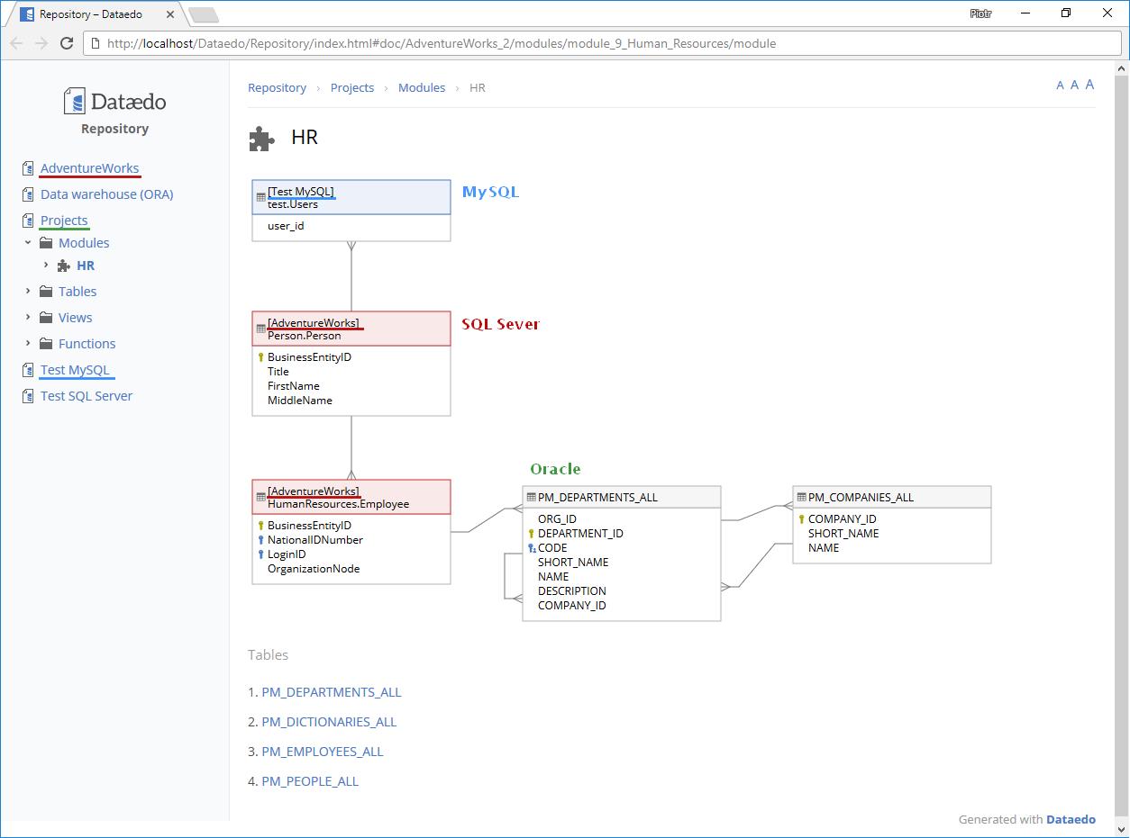Dataedo 6 0 beta: Custom Fields, Cross-DB and Much More