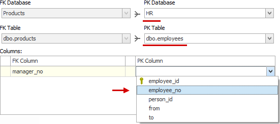 Discover and Document Database Table Relationships (FKs) with Dataedo