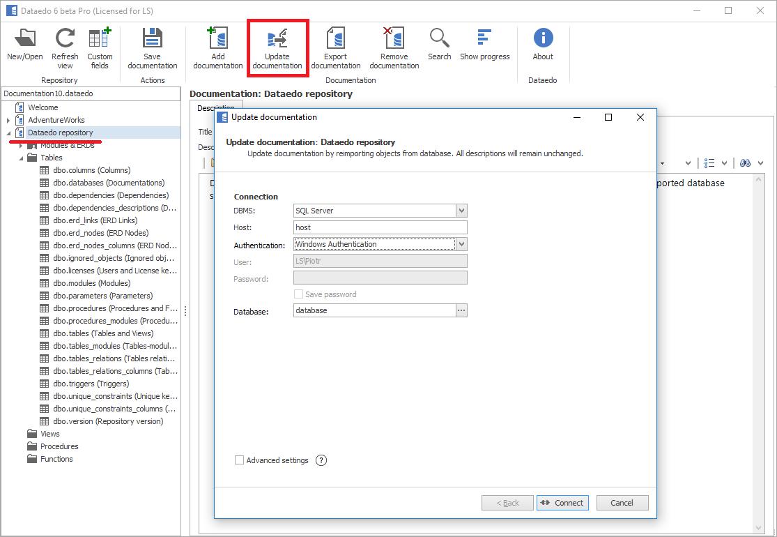 Visual Studio 2015 Database Diagram