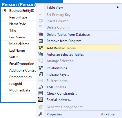 How To Create Database Diagram With Microsoft Sql Server Management