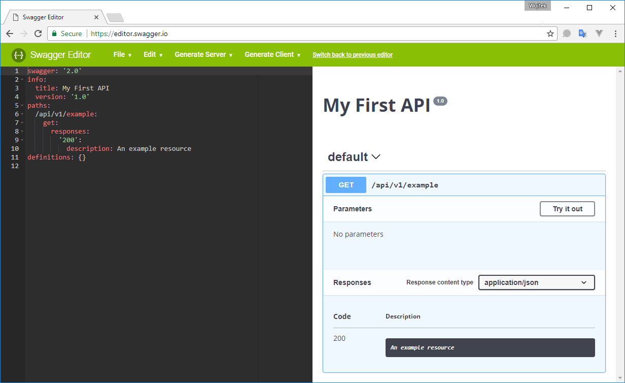 How to document rest api project written in php using for Rest api documentation template