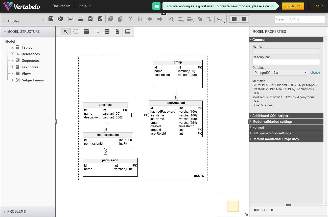 6 Different Tools You Can Use To Create Er Diagram Erd For Existing Database Dataedo Blog