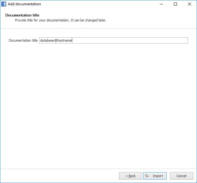 Add documentation