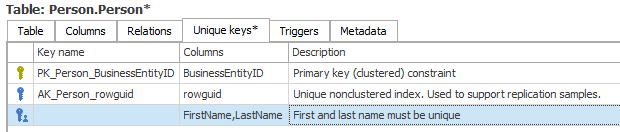 New user-defined key