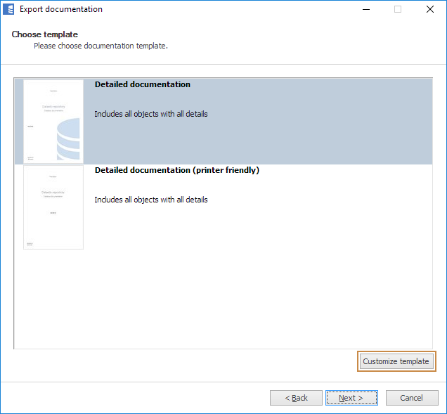 Branding and customizing PDF export - Dataedo Documentation