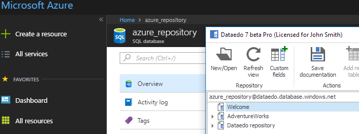 Azure repository
