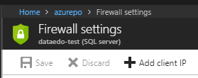Add IP to firewall