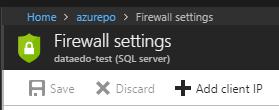 Add IP to firewall