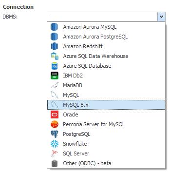 MySQL 8 support