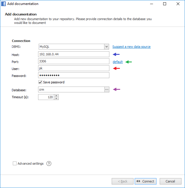 Connection to SQL Server