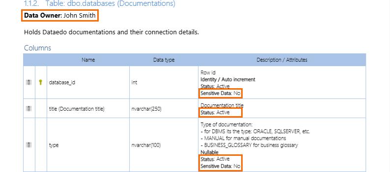 Custom field in PDF export