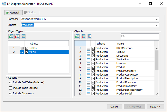 How to view and edit table and column comments with Aqua Data Studio