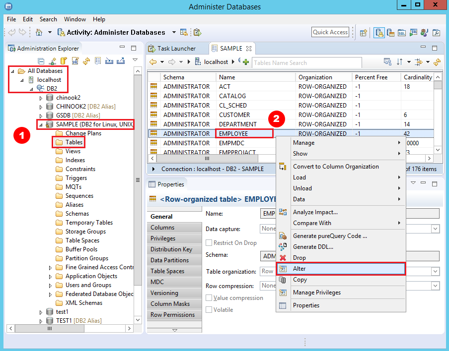 How to view and edit table and column comments with IBM Data Studio
