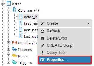 How to view and edit table and column comments with in PostgreSQL
