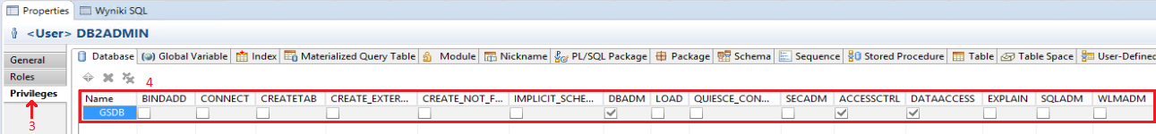 List users in Db2 database - IBM Db2 Query Toolbox