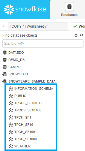List schemas in Snowflake - Snowflake Data Dictionary Queries