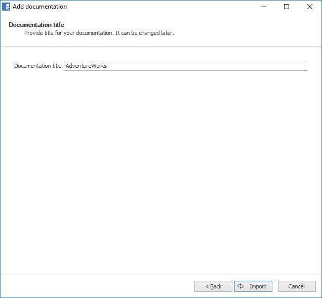 Generate documentation for PostgreSQL database in 5 minutes