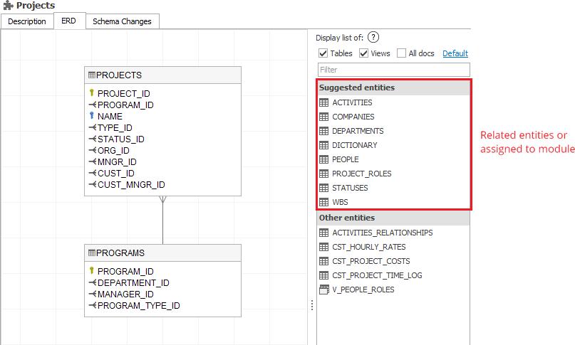 Create Er Diagram For Existing Database Dataedo Tutorials